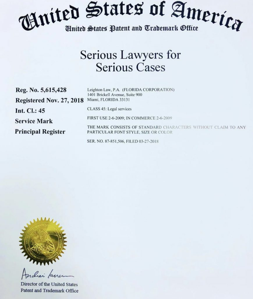 Serious Lawyers for Serious Cases